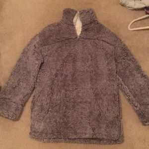 Boutique fuzzy pullover